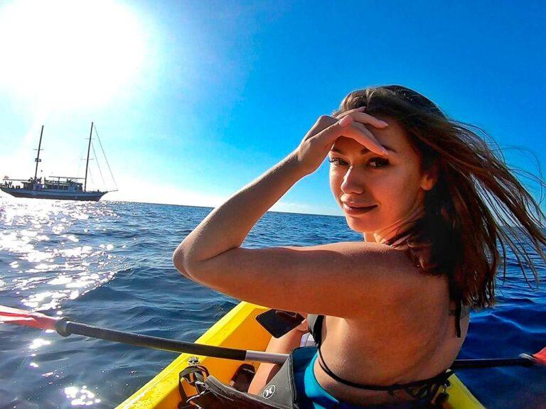 tour kayak snorkel tenerife